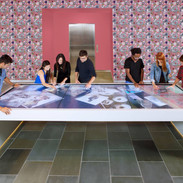 Giant touch table