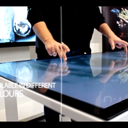 Samsung Multitouch table