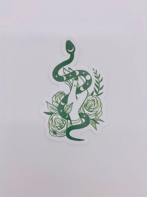 Green Goddess Sticker