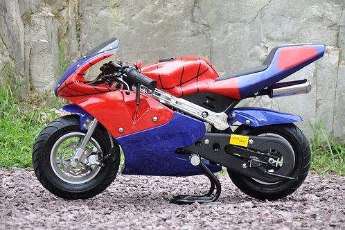 4W-Moto Pocket Bike - Spider Edition.