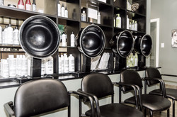 Hair salon hair dryers