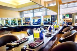 Hair salon main area