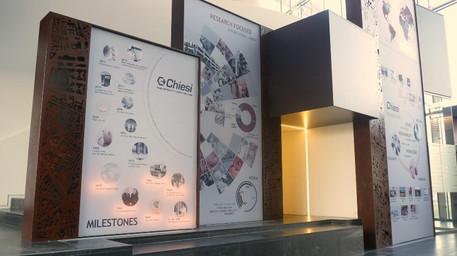 Direzione artistica - Esposizione Permanente Centro Ricerche Chiesi 2014