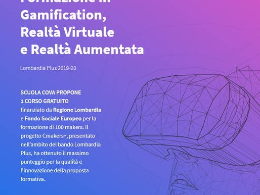 Formazione in Gamification, Realtà Virtuale e Realtà Aumentata