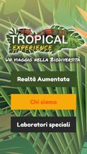 Edutainment: App mobile della mostra Tropica Experience