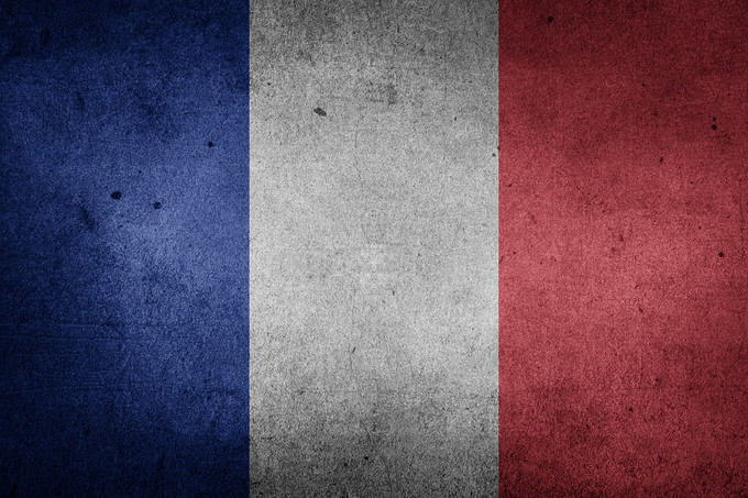 Background - French flag