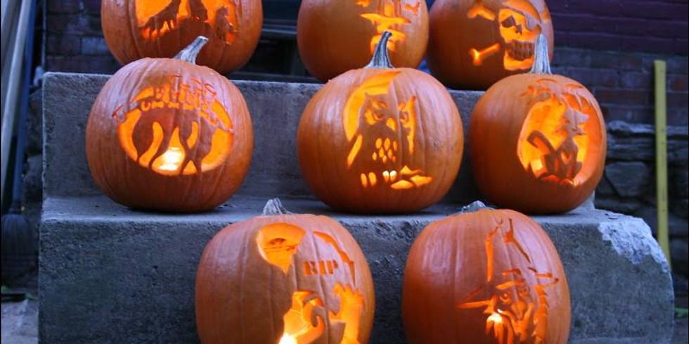 Pumpkin Carving at Quandary