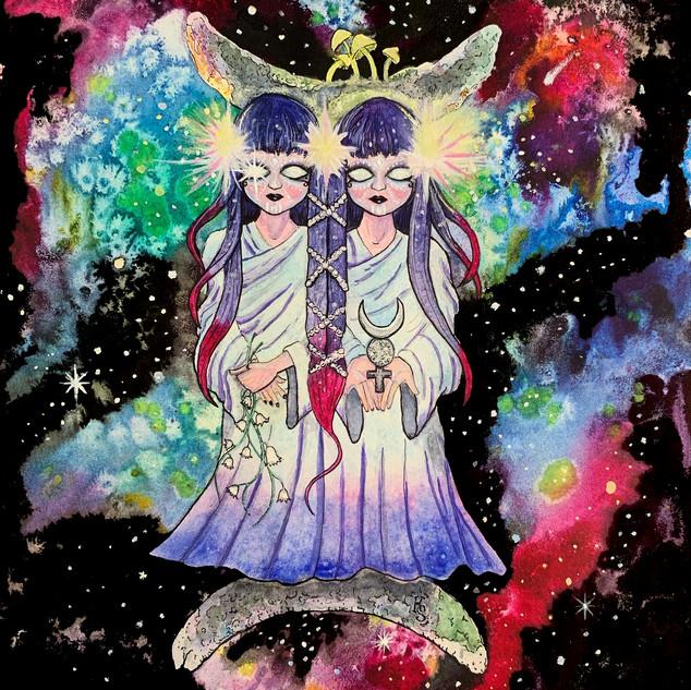 Cosmic Gemini Twins