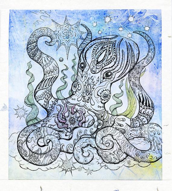 Starry Octopus