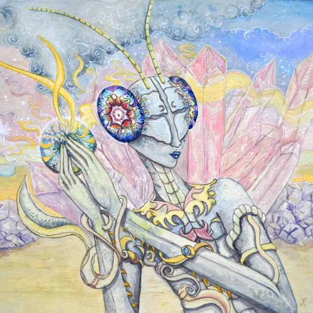 Crystalline Mantis Seeker