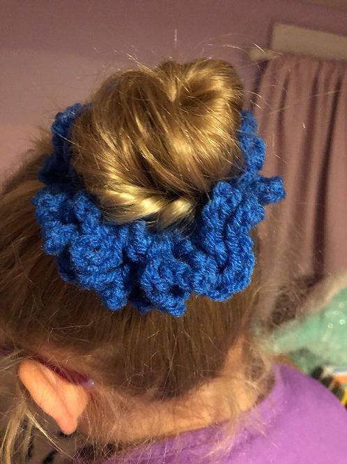 Crocheted Wampatuck Scrunchie
