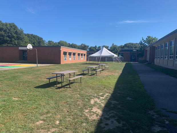 Donated Picnic Tables to Wampatuck
