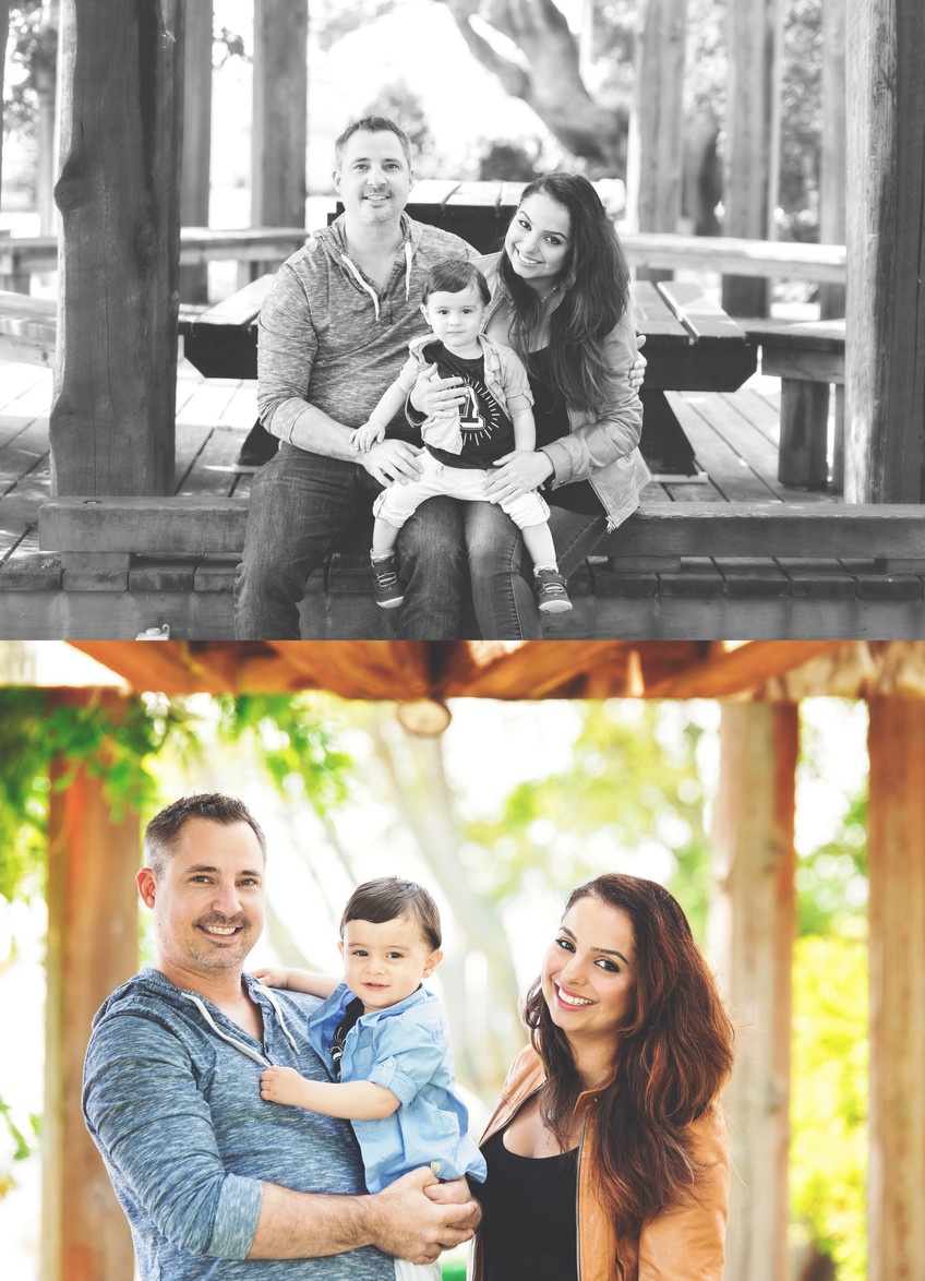 Family session at Dundarave