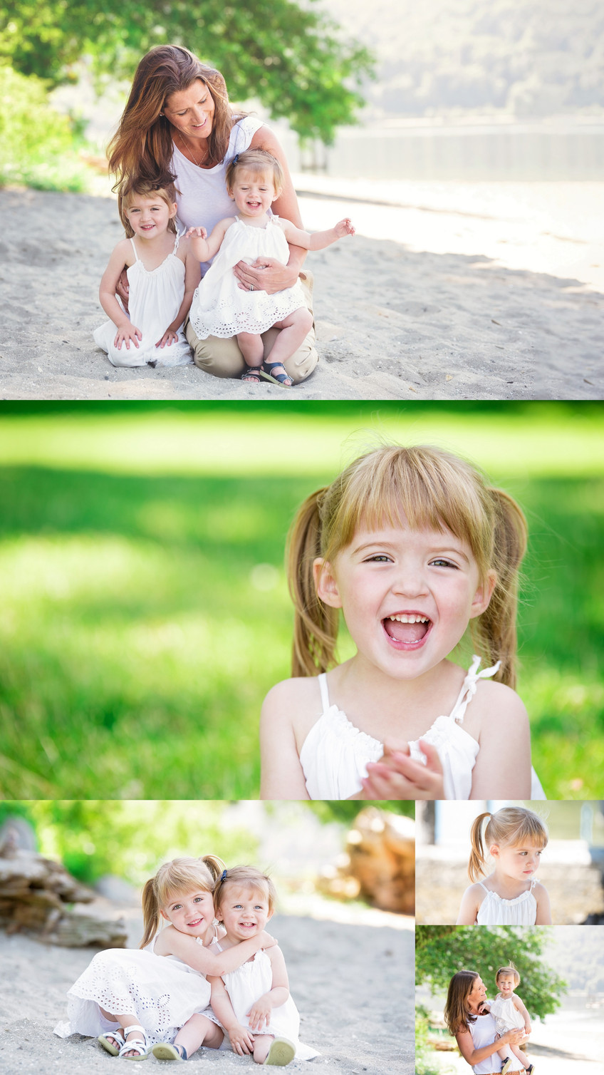 Mom and daughters session