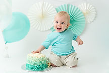 Cake smash photography North Vancouver