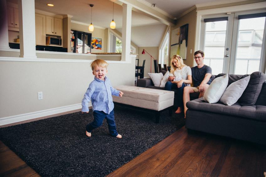 Newborn lifestyle session {Vancouver family photographer}