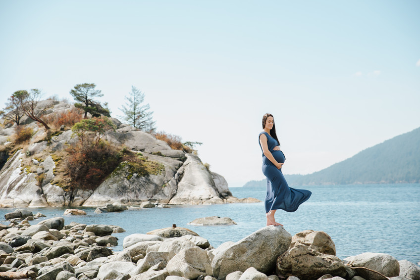 Maternity session {West Vancouver Photographer}