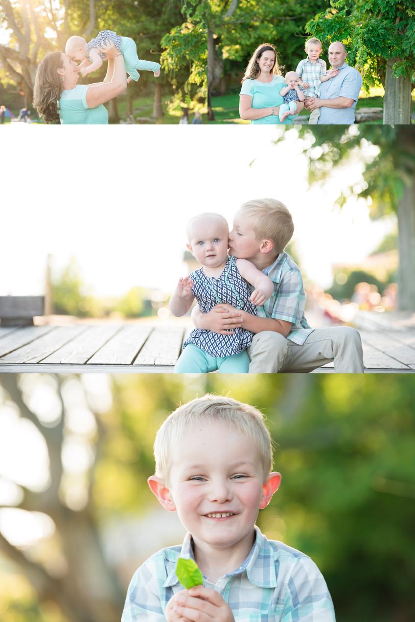 Three generation family session | Dundarave Beach