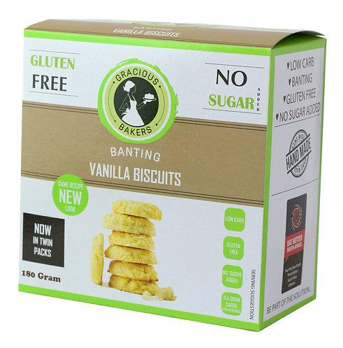 Banting Vanilla Biscuits