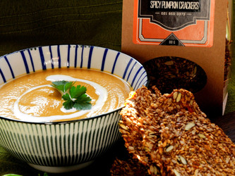Gracious Bakers Banting Roasted Pumpkin Soup