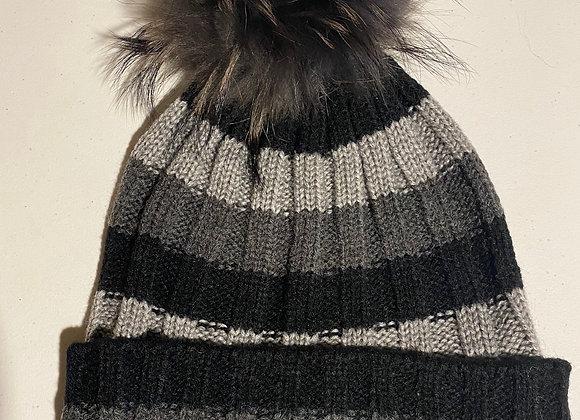 Heartloom Beanie- Nutrel Stripe