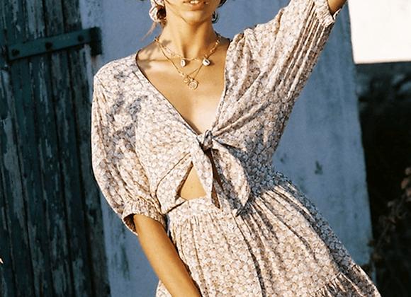 Faithfull the Brand Marigot Dress- Azalea