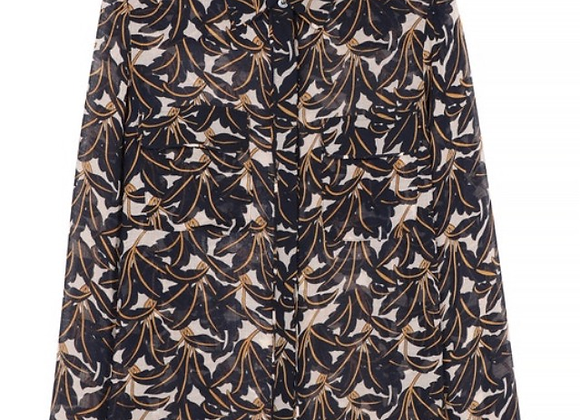 Frnch Paris Clotilda Printed Shirt with Long Sleeves
