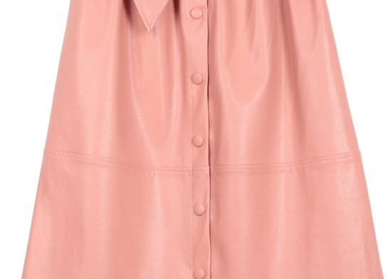 Frnch Paris Ermine Skirt-Rose