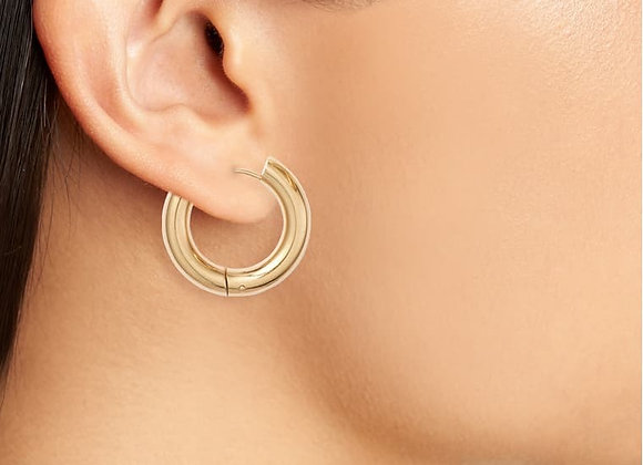 Winona Medium Hoop Earrings