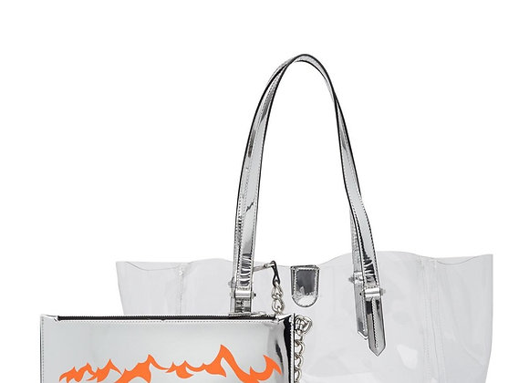 KENDALL & KYLIE - CLEAR TOTE