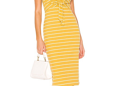 Heartloom Kenzie Dress- Yellow