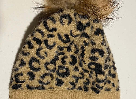 Heartloom Animal Print Toque