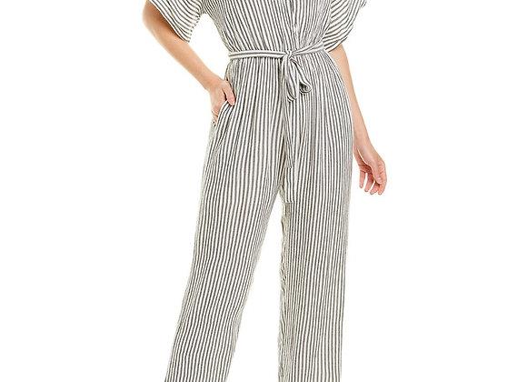 Elan Striped Jumpsuit