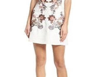 FoxieDox Katrin Dress -White/Pink Multi