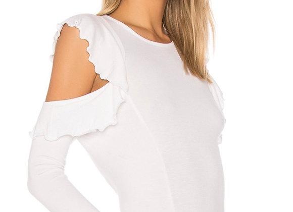 Sen open shoulder top
