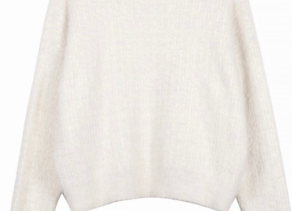Frnch Paris Nafi Sweater-Winter White