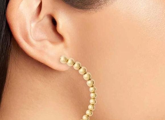 ELLIE VAIL - SYDNEY HALF HOOP EARRING