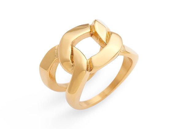 Ellie Vail Brooklyn Chain Ring-Good