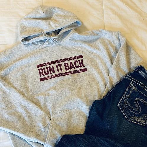 Run It Back Hooded Sweatshirt