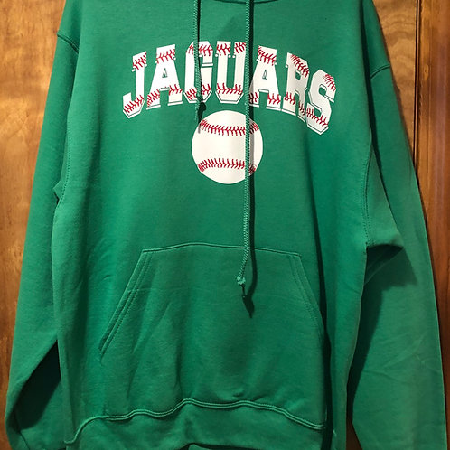 Jaguar strings baseball hoodie