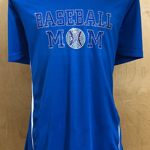 Baseball Mom Bling Drifit