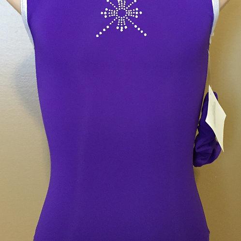 Purple snowflake Leotard