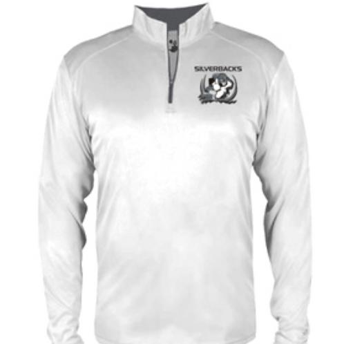 Silverbacks 3/4 zip pullover