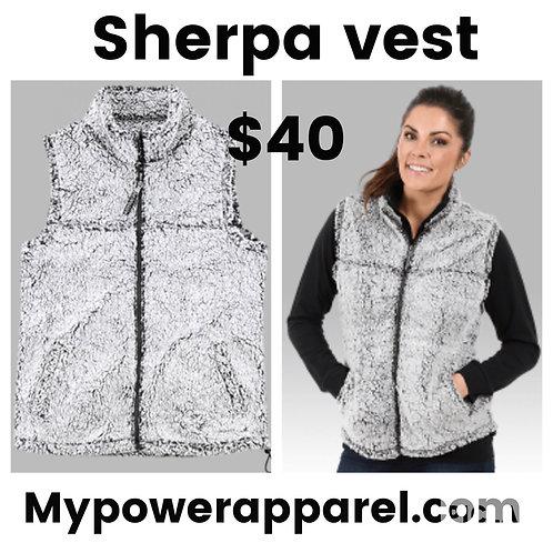 Sherpa Full Zip Vest