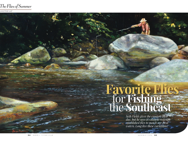Fly Tyer magazine - Favorite Flies for Fishing the Southeast