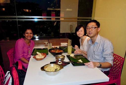 With Dr. YK Lim, Singapre