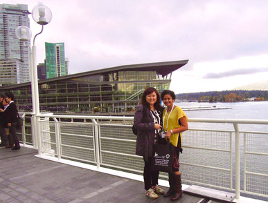 With Julia at Vancouver