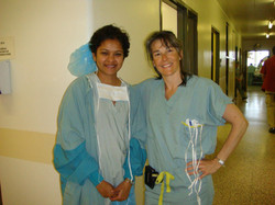 My mentor - Dr. Marie Plante