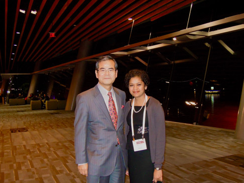 With Dr. Shingo Fujii