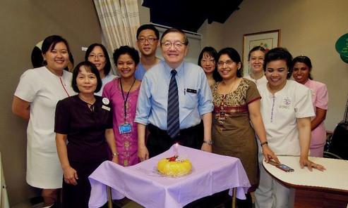 At KK Women's and Children's Hospital, Singapore